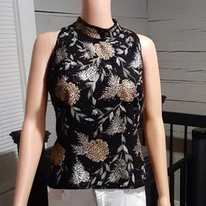 JKara beautiful embellished top